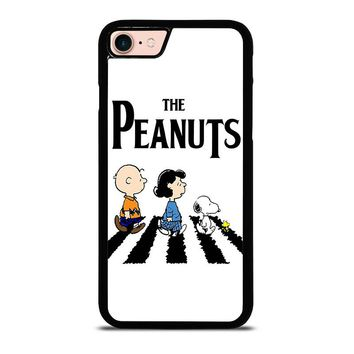 THE PEANUTS SNOOPY CHARLIE BROWN BEATLES iPhone 8 Case Cover