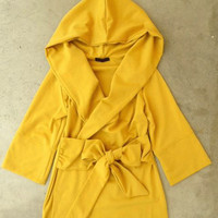Mustard Cobblestone Jacket [2521] - $52.00 : Vintage Inspired Clothing & Affordable Summer Frocks, deloom | Modern. Vintage. Crafted.