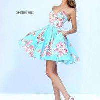 Sherri Hill 32246 Sherri Hill Dollys Boutique 2014 Designer Prom Dresses