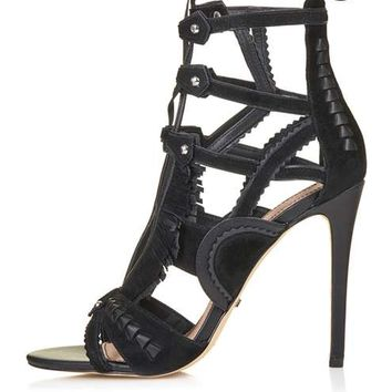 RIRI Cut-Out Sandals