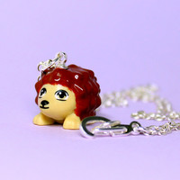 Hedgehog Necklace made from New LEGO (r) Piece
