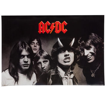 AC/DC - Highway to Hell 24X36 Standard Wall Art Poster