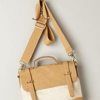Gwendolyn Satchel by Anthropologie Neutral Motif One Size Bags