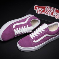 VANS Old Skool Canvas Flat Sneakers Sport Shoes