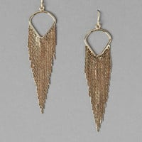 EAGLE ROCK FRINGE EARRINGS