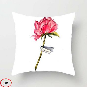 New hand-painted fashion pillow