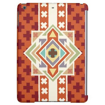 Southwestern Native Tribal Pattern Case For iPad Air