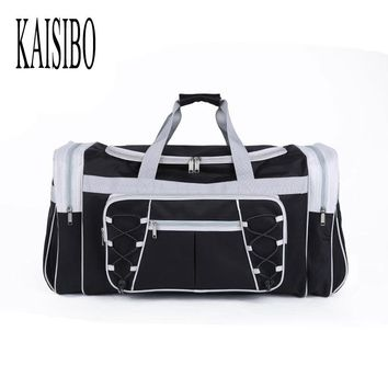 KAISIBO Women Travel Bags Large Capacity Men Luggage Travel Duffle Bags Polyester Shoulder Bag Handbag Bolsa Viagem