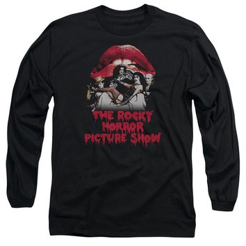 Rocky Horror Picture Show - Casting Throne Long Sleeve Adult 18/1 Officially Licensed Shirt