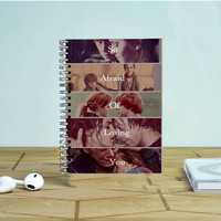 Ron And Hermione Quote Photo Notebook Auroid