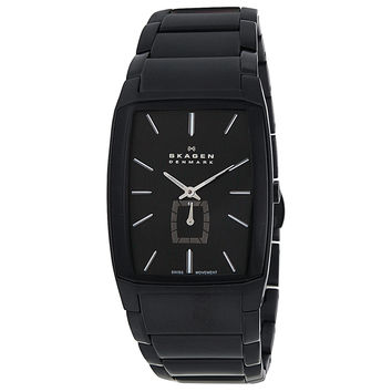 Skagen Black Label Mens Swiss Quartz Watch 984XLBXB