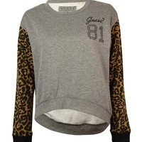 Guess Women's Eccentric Hi-Low Sweater