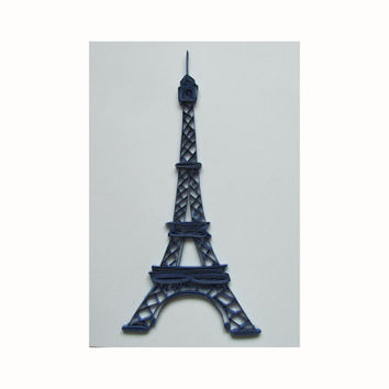The Eiffel Tower Quilling Card, Quilled Eiffel Tower Card, Paris Quilling Card