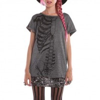 Glam Wishbone Top - Fashion Tees - Tops