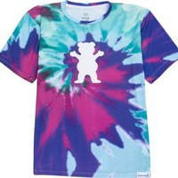 Grizzly Digi Tie Dye Xxlarge Cotton Candy Short Sleeve