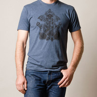 Mighty Ganesh Triblend Tee