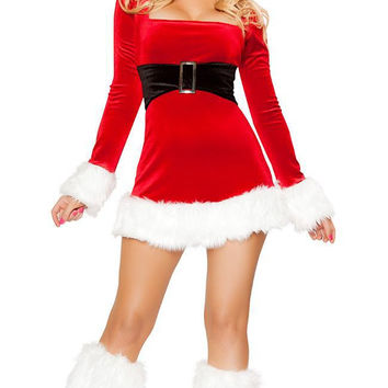 Women's Christmas Fancy Suit Costume Xmas Outfit = 4427580164