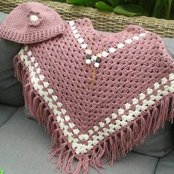 Free Crochet Patterns For Little Girl Poncho ~ Dancox for .