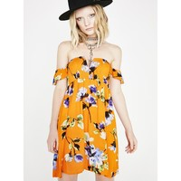 Wild Bloom Floral Dress