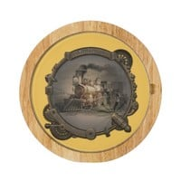 Magic Lantern - Steampunk Style Frame. Round Cheese Board