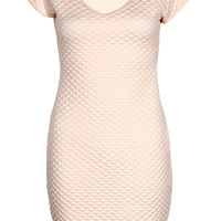 Khloe Quilted Bodycon Dress