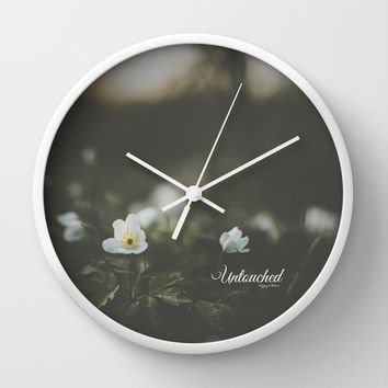 Untouched I Wall Clock by HappyMelvin