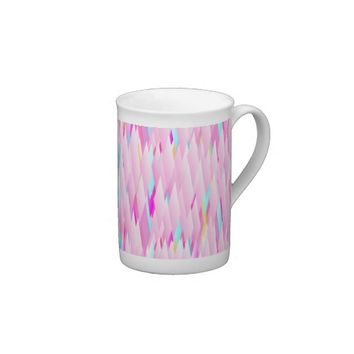 Totally Pink Cup - Bone China or Espresso! Porcelain Mug from Zazzle.com