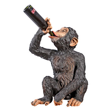 Park Avenue Collection Anisetta Liquore Drinking Monkey Statue