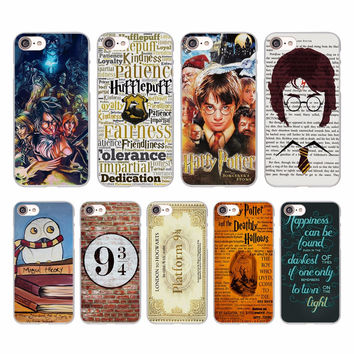 Avada bitch alway Harry Potter Design hard White Skin Case for Apple iPhone 7 7Plus 6s 6 Plus SE 5 5s 5c