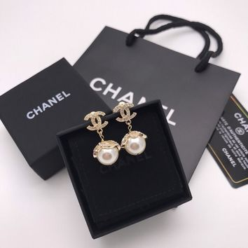 Double C Earrings #173