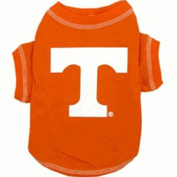 PEAPYW9 Tennessee Volunteers Dog Tee Shirt