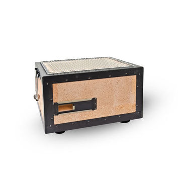 Charcoal Konro Grill with Net (Small) | KORIN