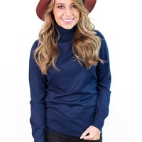 Wynonna Classic Fitted Turtleneck