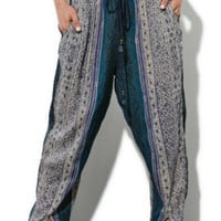 Some Days Lovin Blue Saloon Harem Pants at PacSun.com