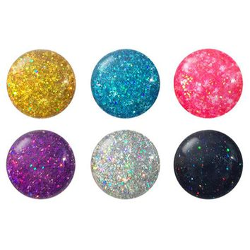 Glitter Home Button Sticker Pack
