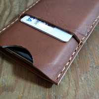 Leather Distressed Cell Phone Case