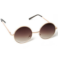 Nightingale Sunglasses (Gold)