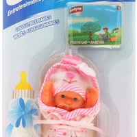 """Mini Happy Baby Doll- 6"""" (Sold Individually -Assorted Outfit- May Vary) - Entyva"""