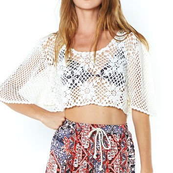 Dancing With Daisies Top