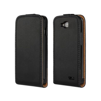 Cover For LG Optimus L90 Real Genuine Leather Flip Case For LG Optimus L90 Dual L 90 D405 D410 D415 Mobile Phone Cover Bag Shell