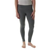 The Balance Collection Womens Heathered Sanded Dry-Wik Yoga Legging