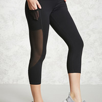 Active Sheer Panel Leggings