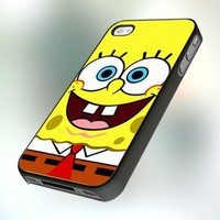 Sponge Bob Square Pants design for iPhone 4 or 4S Case / Cover