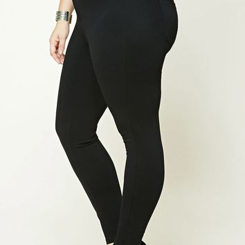 Plus Size High-Waist Pants