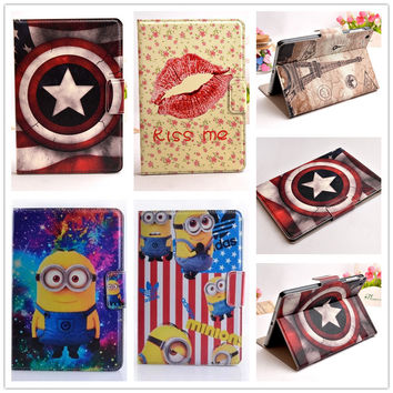 14 picture new America Super Tower elephant  case covers for apple ipad mini cases with stand for ipad mini 2 mini 3 tablet case