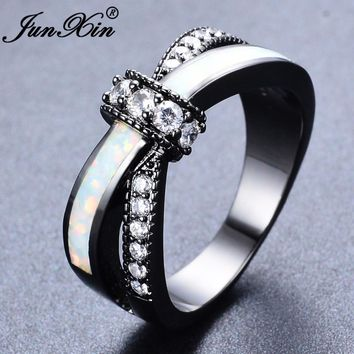 Cubic Zirconia Mystic Rainbow Fire Opal Wedding Engagement/Ring For Men or Women