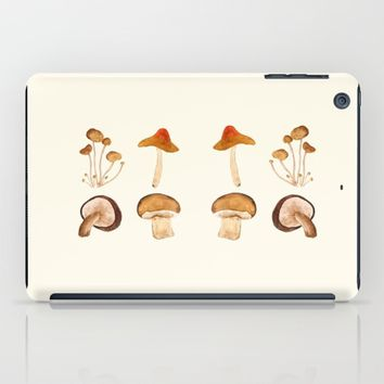 mushroom watercolor painting  iPad Case by Color and Color