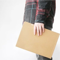 A4 Size Clipboard Rinsed Denim Leather Stationary [4918395332]