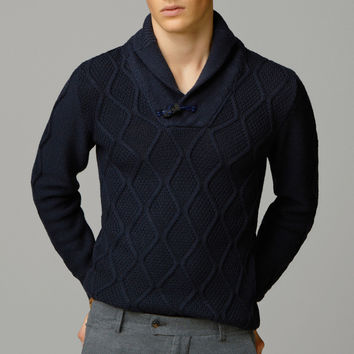 CABLE-KNIT WOOL SWEATER - New - MEN - United States of America / Estados Unidos de América