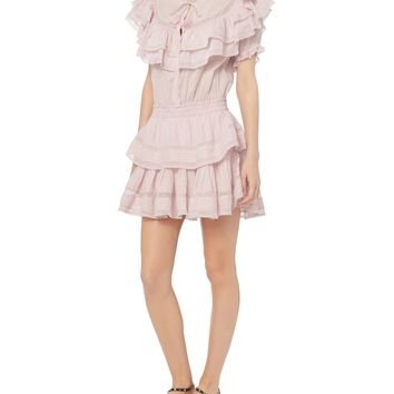 Liv Ruffle Mini Dress